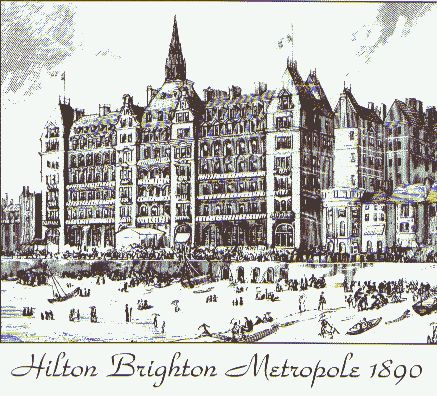 Hilton Brighton Metropole in 1890   Image reproduced by kind permission of the Splendid Property Group