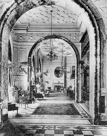 Entrance to the Lounge of the Hotel Metropole, Brighton (now the Cafe Bar)   Image reproduced by kind permission of the Splendid Property Group