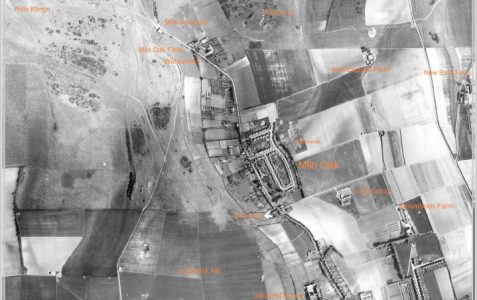 Aerial photograph c1940
