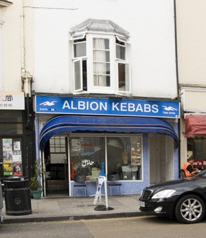 Formerly Miles Ahead, 61 Queens Road, Brighton | Photo by Debbie Lias