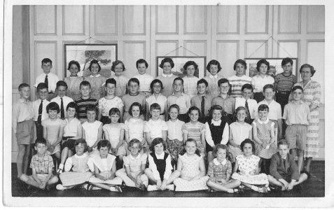 Miss Park's class c1958/59