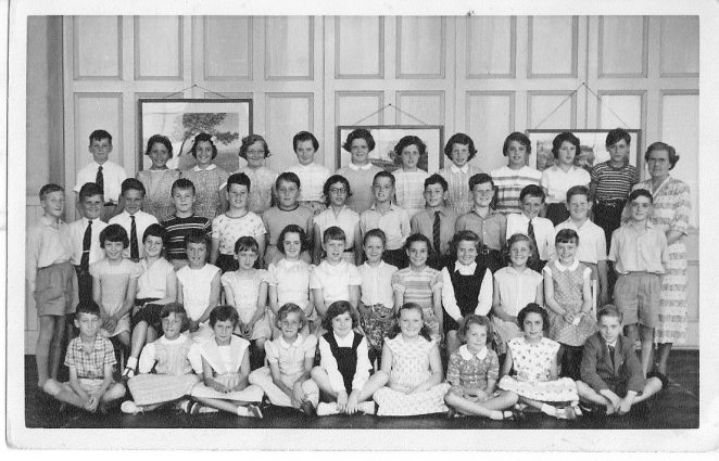 Miss Park's third year class   From the private collection of Sue Harman