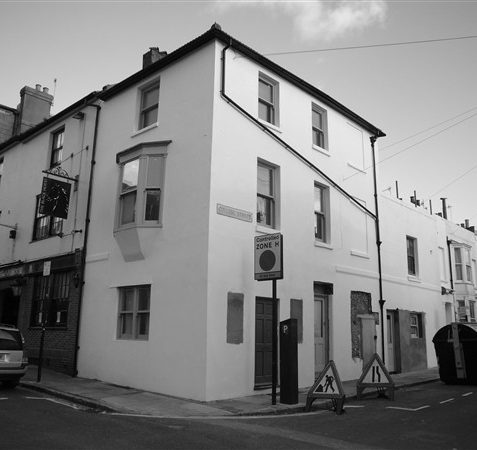 Mr Oakley's shop is now flats.   From the private collection of Michael Brittain
