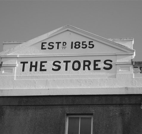 Webb's Stores St Georges Road, now the Co-op.   From the private collection of Michael Brittain