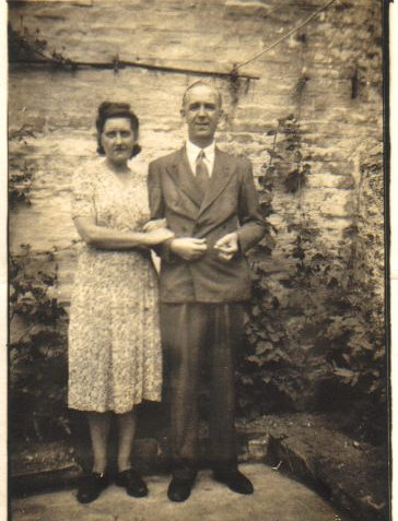 Mr and Mrs Lettres, parents of Pat | From the private collection of Pat Lettres