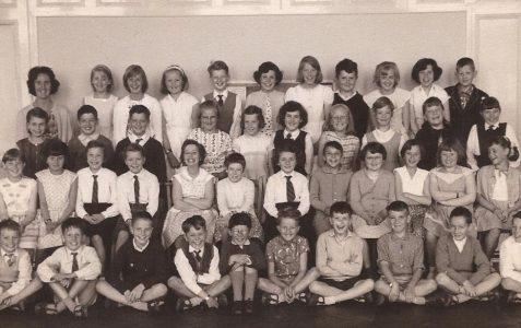 Mrs Batchelor's class 1960/1961