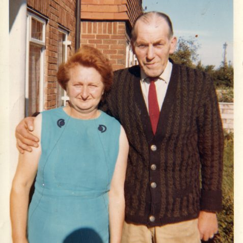 Harry and Grace Raynsford my Mum and Dad | From the private collection of Stephen Raynsford