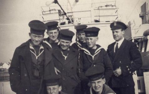 Hove Sea Cadets in the 1950s