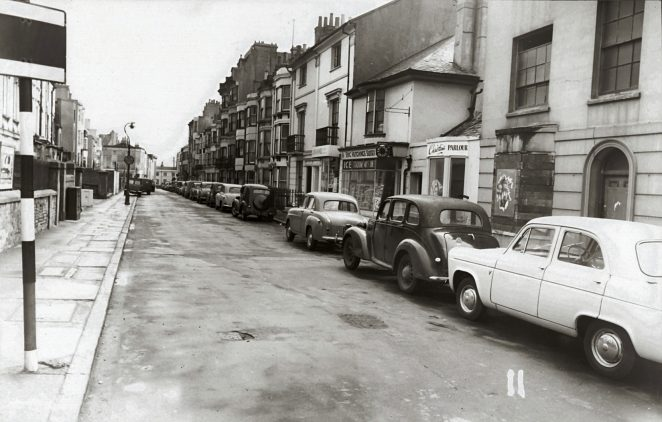 Where is this Brighton street? | Image reproduced with kind permission of The Royal Pavilion and Museums Brighton and Hove