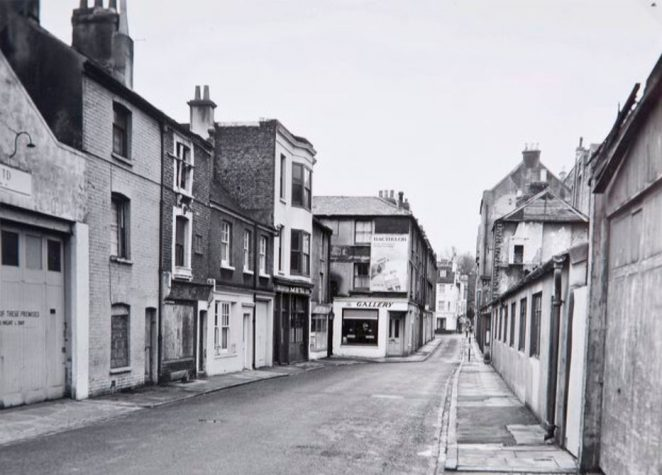 Mystery street 1960s | Image reproduced with kind permission of The Regency Society and The James Gray Collection