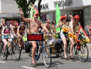 World Naked Bike Ride | Photo by Tony Mould