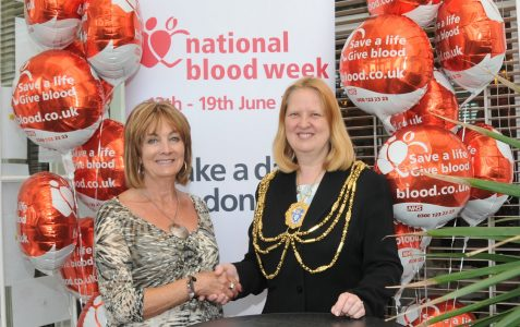 Local blood donor honoured