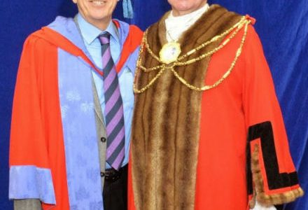Honorary Doctorate for Nicholas Owen