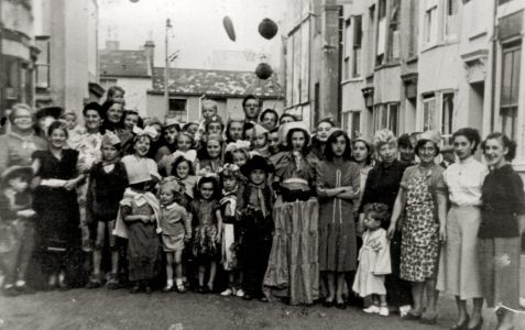 Street party c1947