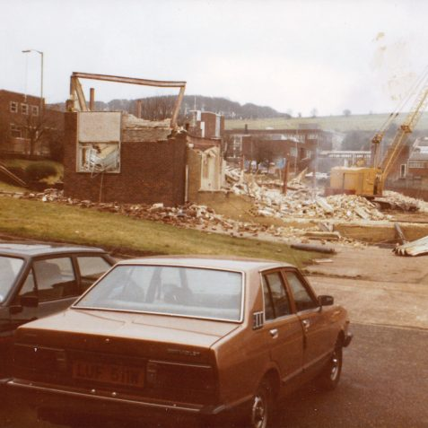 Leytool Demolition January 1985   From the private collection of Richard Griffiths