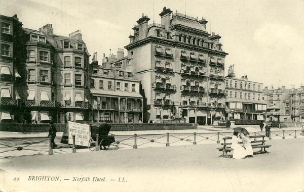 The Norfolk hotel, c.1900. | From the private collection of Tony Drury