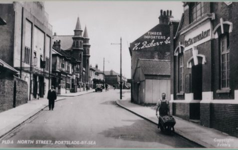 Situated in Station Road Portslade in the 1960s