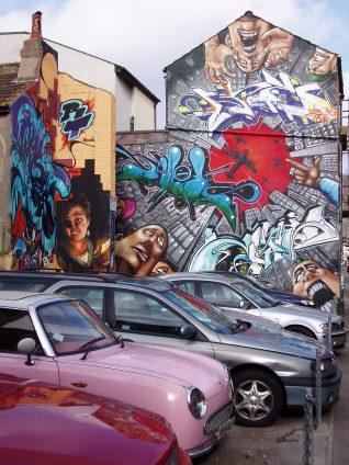 Kensington Street graffiti   Photo by Cora Bailey