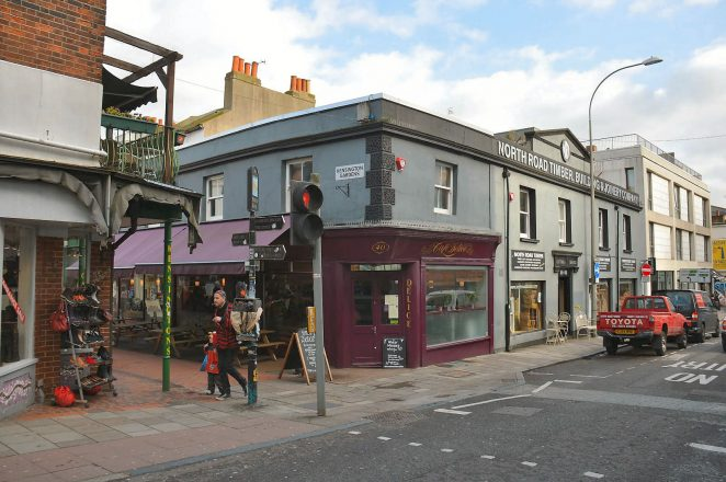 North Road location photographed in 2013 | Photo by Tony Mould