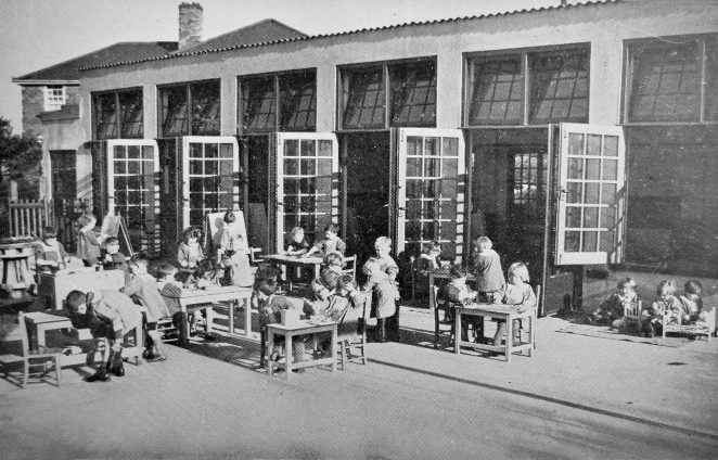 Exterior shot of the nursery | From the Education Week booklet owned by Peter Groves