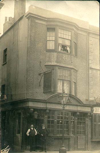Neptune Inn, 1914 - Photo of my great grandad, who ran the Neptune Inn. | Sent to My Brighton and Hove website by Michele Chivers, 18 August 2001