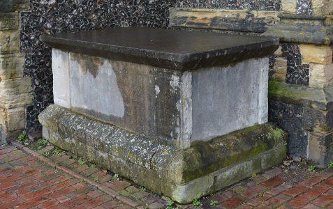 Notable gravestones