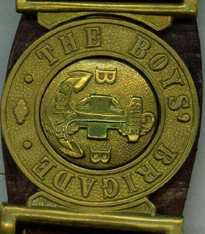 Dad's Boys Brigade belt | From the private collection of Maralyn Eden