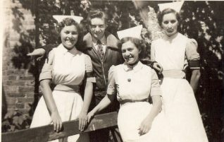 RSCH nurses c1952 | From the private collection of Kenneth Ross