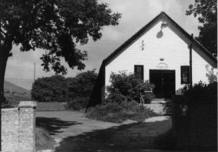 The original building before renovations | From the private collection of Jennifer Drury