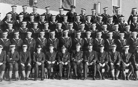 Rating cadets at HMS King Alfred