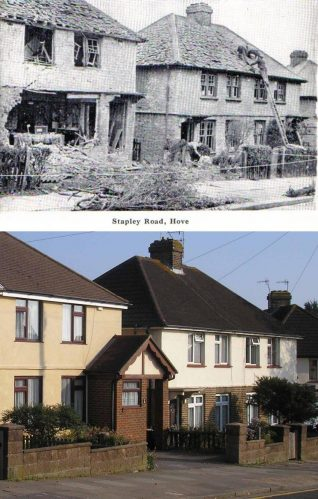 Mystery Solved, definitely Olive Road | Photos merged by Peter Groves