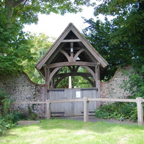 St Wulfran's lych gate | Photo by Tony Mould