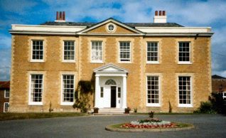 Ovingdean Hall - built in 1792 by Nathaniel Kemp | Kindly loaned by Mr J G Davies
