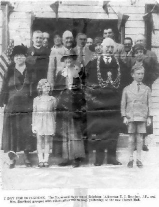 The opening of Ovingdean Village Hall - 1932 | Kindly loaned by Mrs Betty Saul