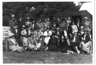 The ladies and gentlemen of Ovingdean Golf Club | From the private collection of Jennifer Drury