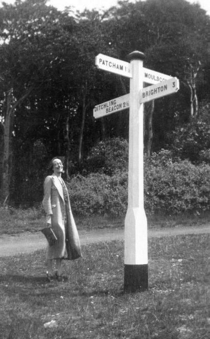 North Brighton signpost | From the private collection of Peter Whitcomb