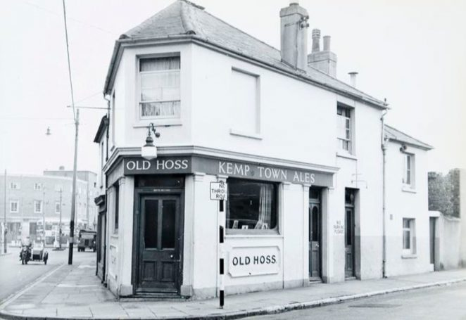 The Old Hoss public house | Image reproduced with kind permission of The Regency Society and The James Gray Collection