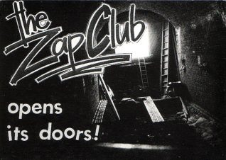 Zap club flyer | Image from the Zap archive