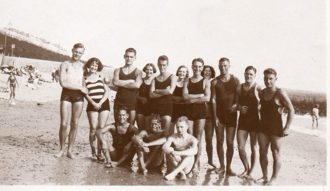 1930s bathers at Brighton - original | From the private collection of Christopher Wrapson