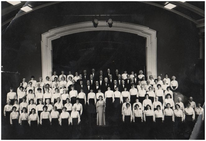 Brighton Orpheus Choir | By Valerie Manchee Nee Rodda