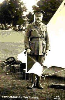 Brighton Division's first Commandant C.G.Yates   Photo copyright of St John Ambulance