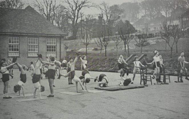 Physical Education | From the Education Week booklet owned by Peter Groves