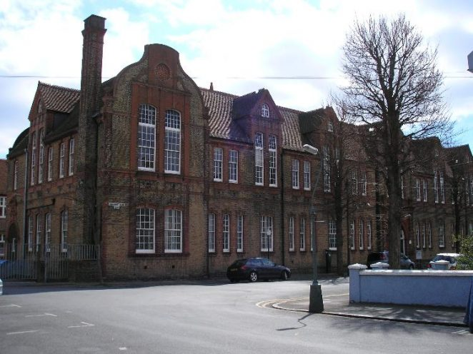 Connaught Road School, looking southeast | Photo by Peter Groves