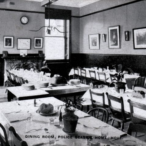The dinning room | From the private collection of Tony Drury