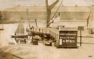 'Fords Ferry' circa 1920 | From an original in the Ernie Charman collection