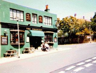 Photograph of the Crescent pub