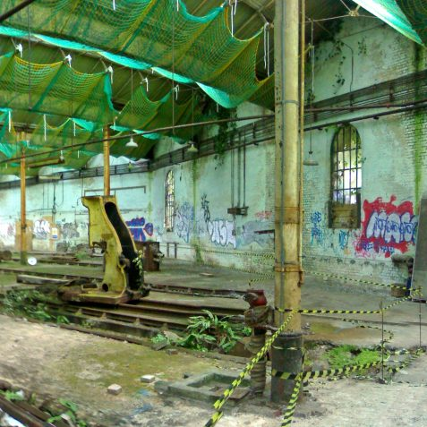 The Western wall of the Train Shed   Photo by Ghost Trains