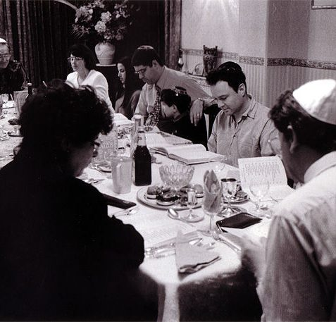 Family gathering for Passover, Hove | Reproduced with kind permission from Tony Tree
