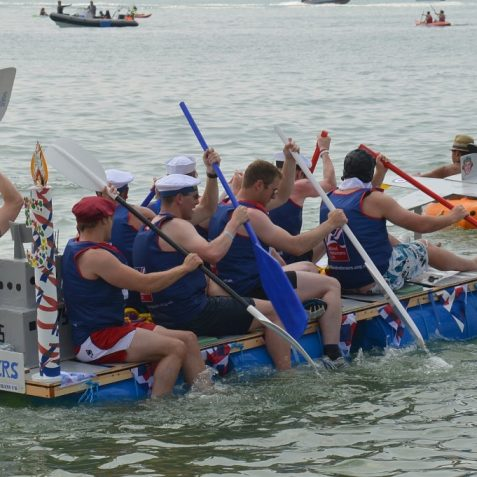 Paddle Round The Pier   Photo by Tony Mould