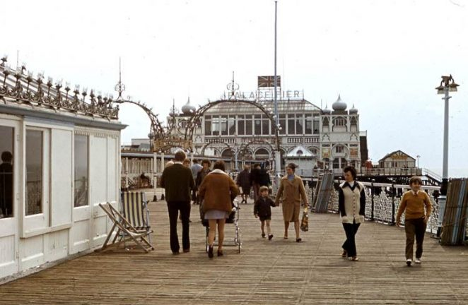 The Palace Pier - early 1970s | Donated to the site by John Lamper